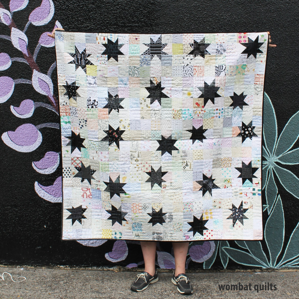 do good stitches wonky star quilt